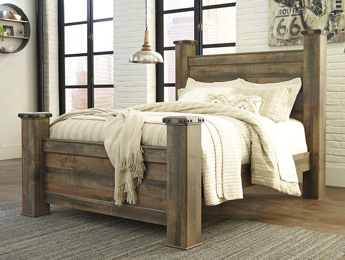 Trinell poster bedroom set by signature design by ashley - Ashley bedroom furniture reviews ...