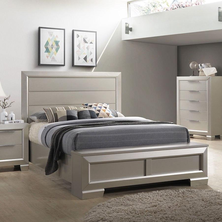 Paloma Storage Bedroom Set by Crown Mark Furniture | FurniturePick