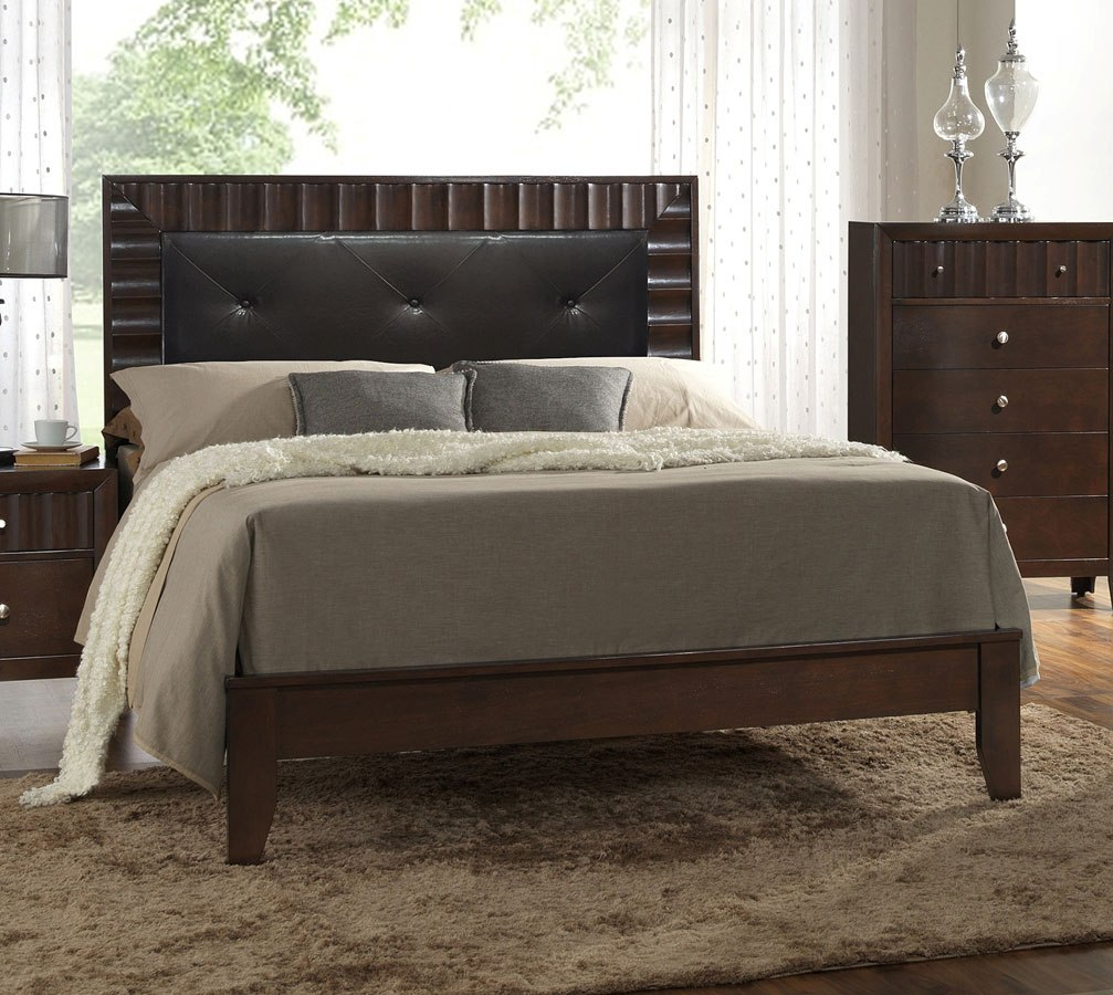 Nadine panel bed bedroom furniture bedroom for Furniture markup