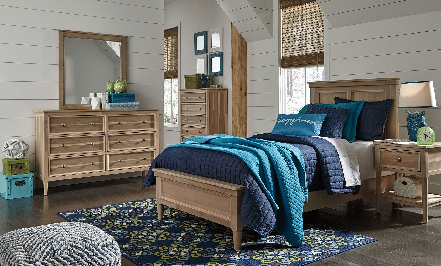 Klasholm Youth Panel Bedroom Set By Signature Design By