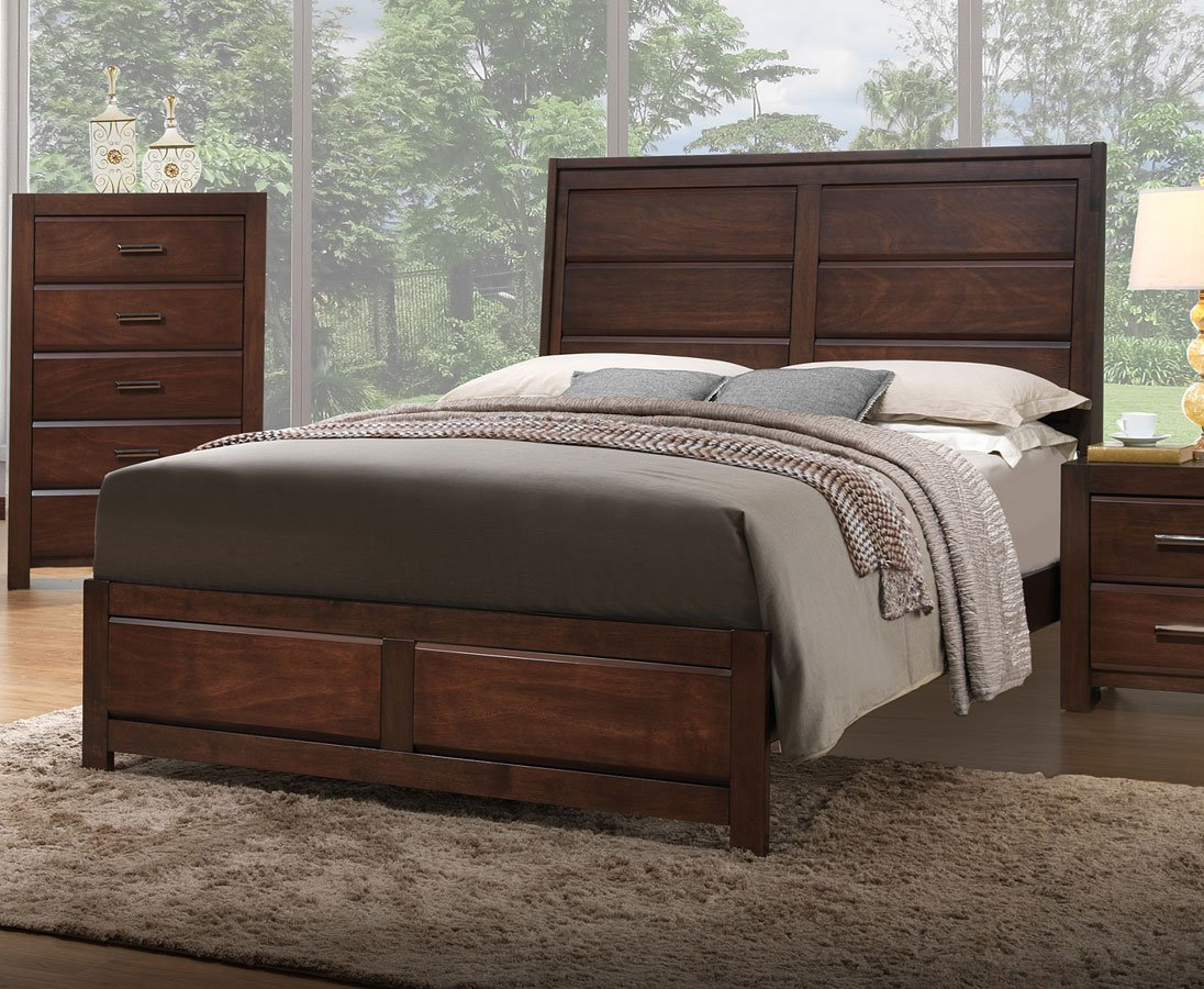 Cambridge panel bed beds bedroom furniture bedroom for Furniture markup