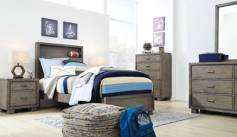 Arnett Youth Bookcase Bedroom Set