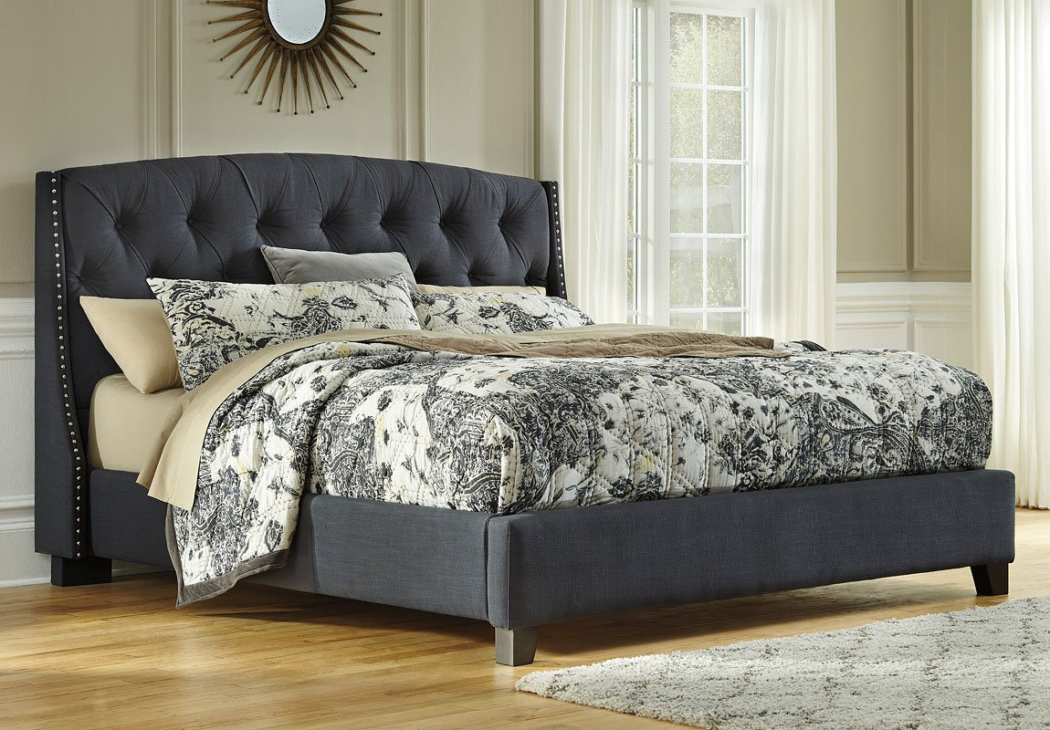 Kasidon Queen Tufted Bed Reviews