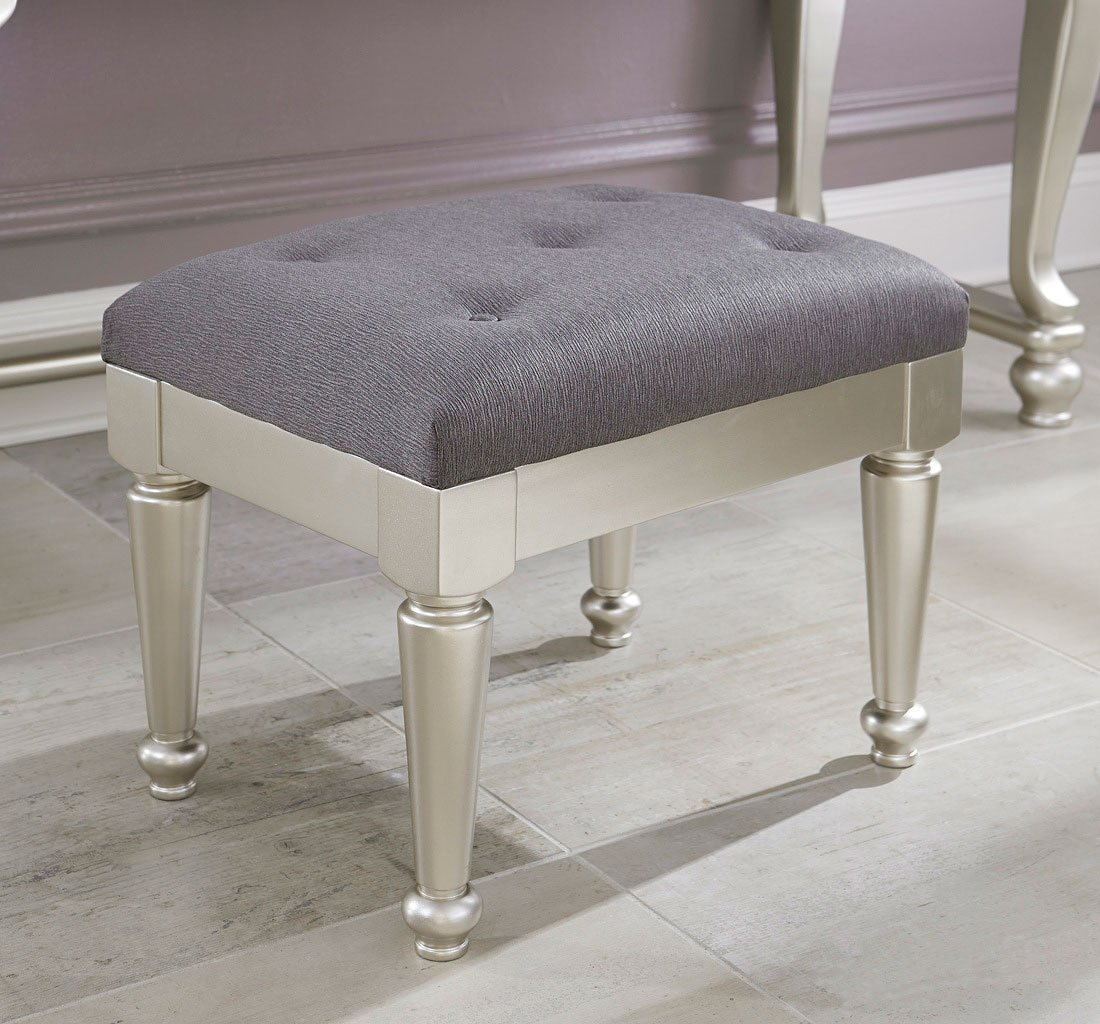 Coralayne Vanity Stool By Signature Design By Ashley