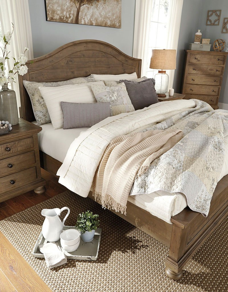 Trishley Panel Bedroom Set By Signature Design By Ashley