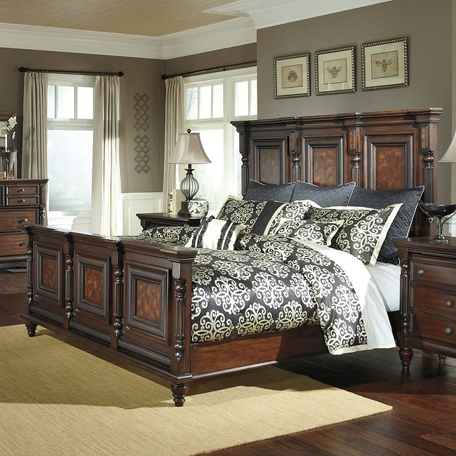 Key Town Mansion Bedroom Set By Millennium