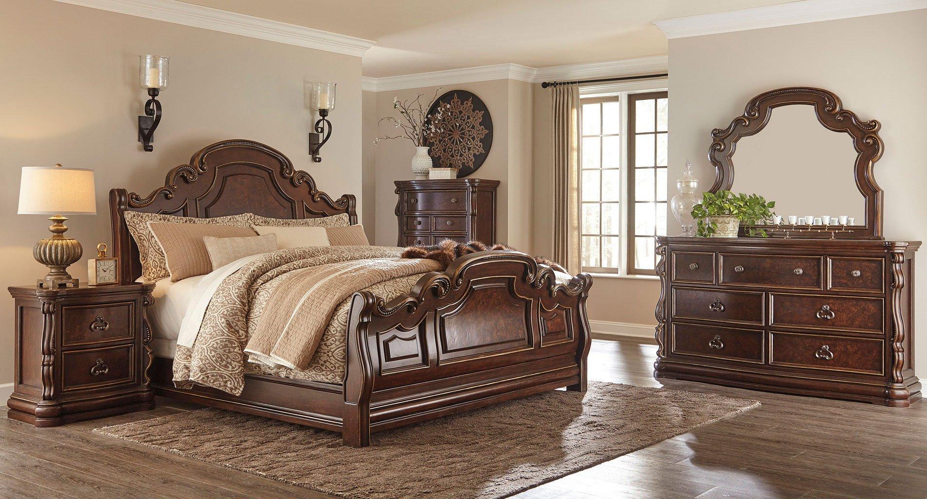 Superbe Florentown Sleigh Bedroom Set