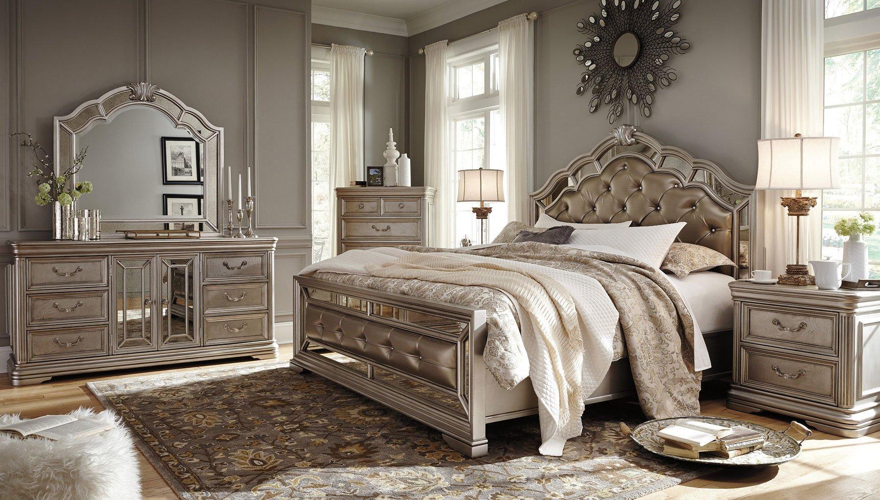 Birlanny Panel Bedroom Set Bedroom Sets Bedroom Furniture Bedroom