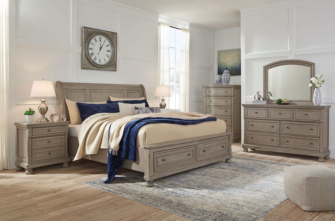 Lettner Storage Bedroom Set By Signature Design By Ashley