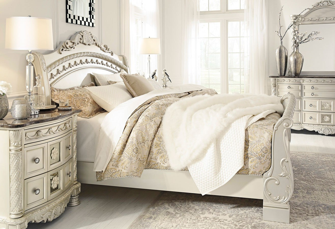 Cassimore sleigh bedroom set by signature design by ashley - Ashley furniture sleigh bedroom set ...