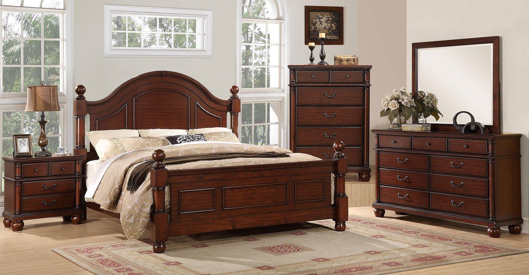 Augusta Low Post Bedroom Set Bedroom Sets Bedroom Furniture Bedroom