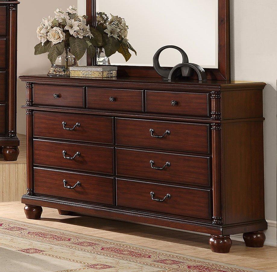 Augusta Dresser Dressers Bedroom Furniture Bedroom