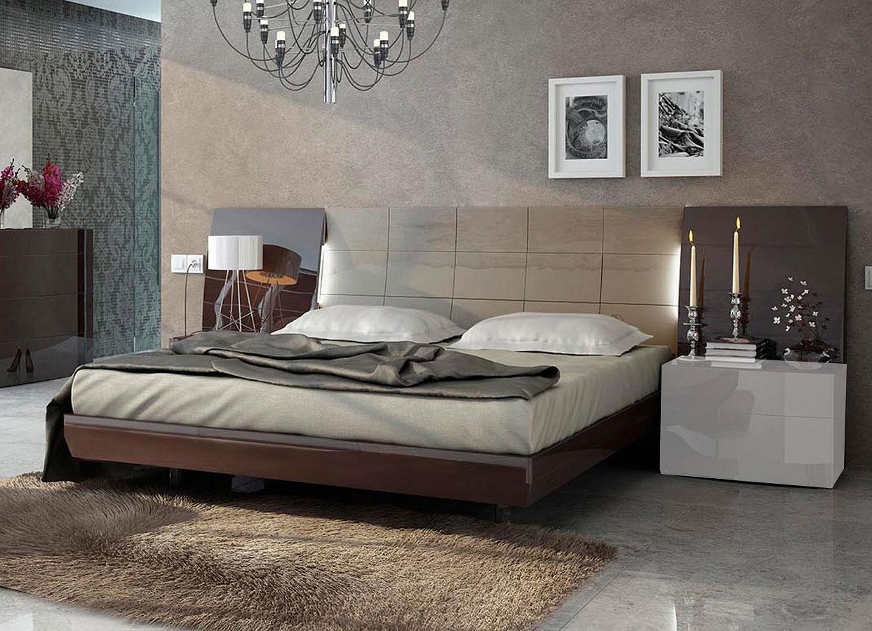 Attirant Barcelona Platform Bed (Queen) By ESF Furniture