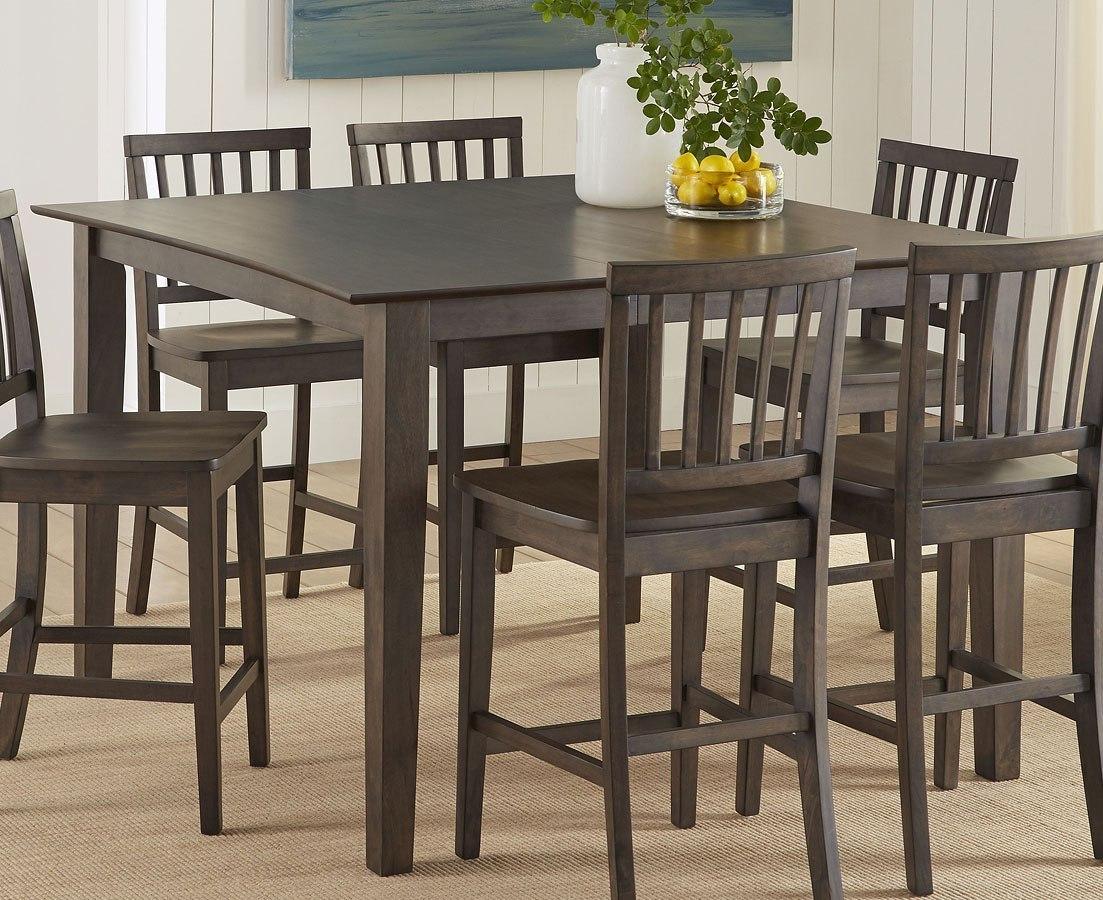 Branson counter height table dark oak by steve silver furniture furniturepick