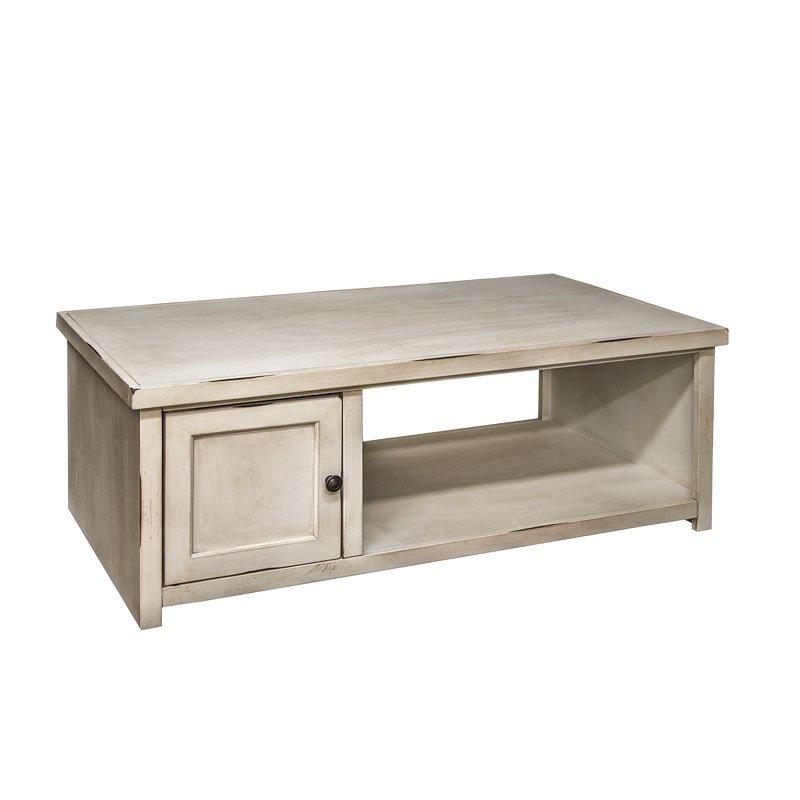 calistoga coffee table rustic white by legends furniture furniturepick. Black Bedroom Furniture Sets. Home Design Ideas