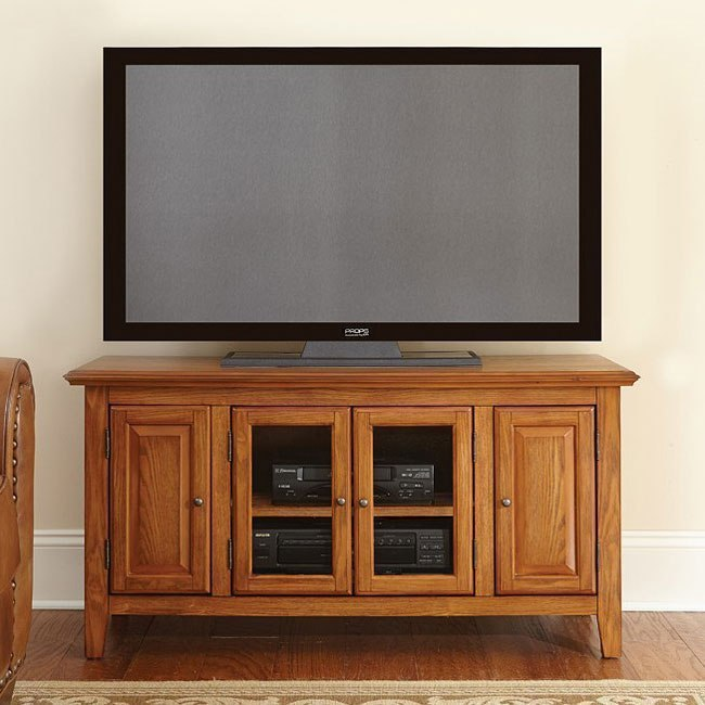 Clairmont 48 Inch Tv Cabinet Cherry By Steve Silver