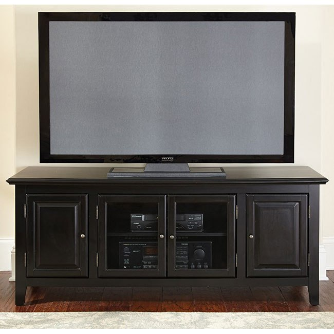 Clairmont 60 Inch TV Cabinet (Black)