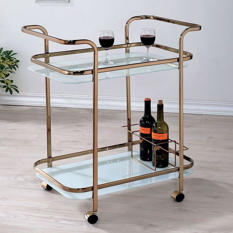Tiana serving cart kitchen islands and serving carts dining room and kitchen furniture - Dining room serving carts ...