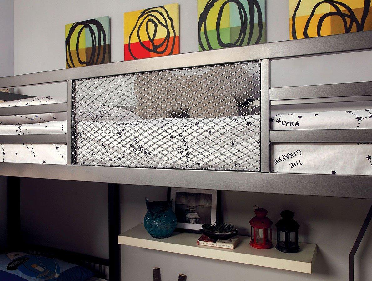 Ballarat L-Shaped Triple Twin Bunk Bed w/ Desk by ...