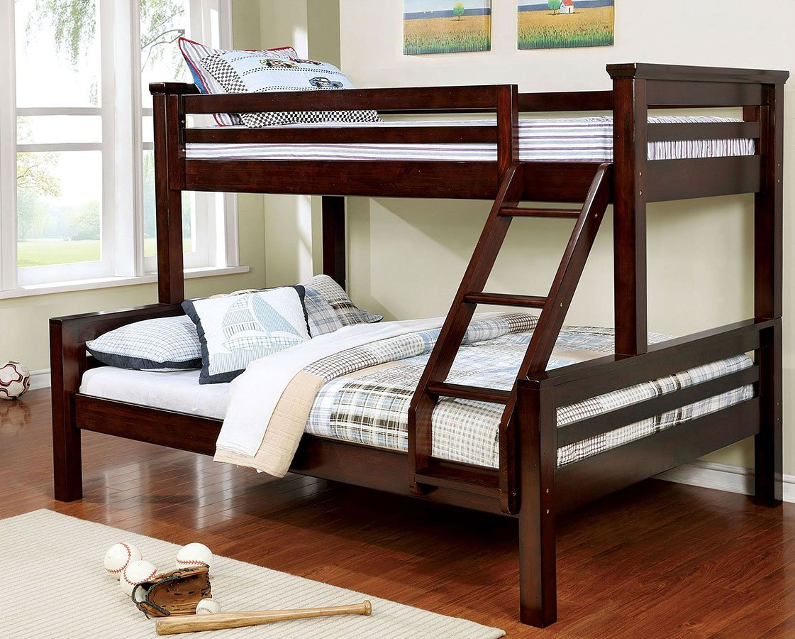 Marcie Twin Over Queen Bunk Bed Kids Loft And Bunk Beds Kids And Youth Furniture Kids Room