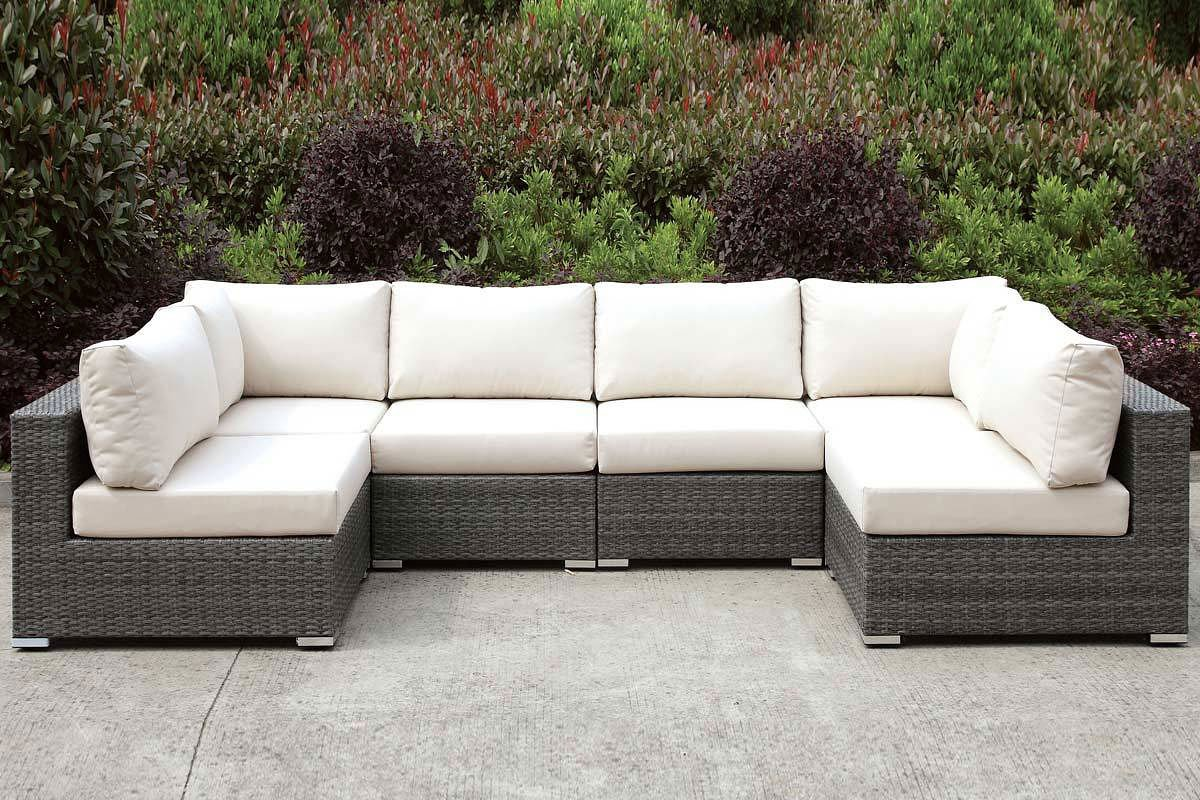 Somani Outdoor Modular Sectional Outdoor Seating