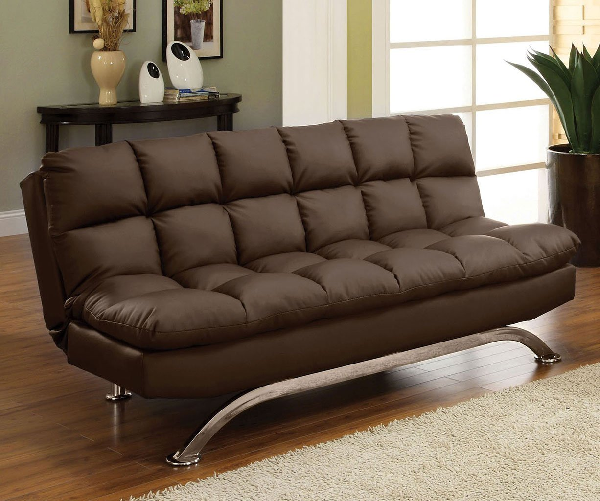 Aristo Sofa Bed Dark Brown Living Room Furniture Living