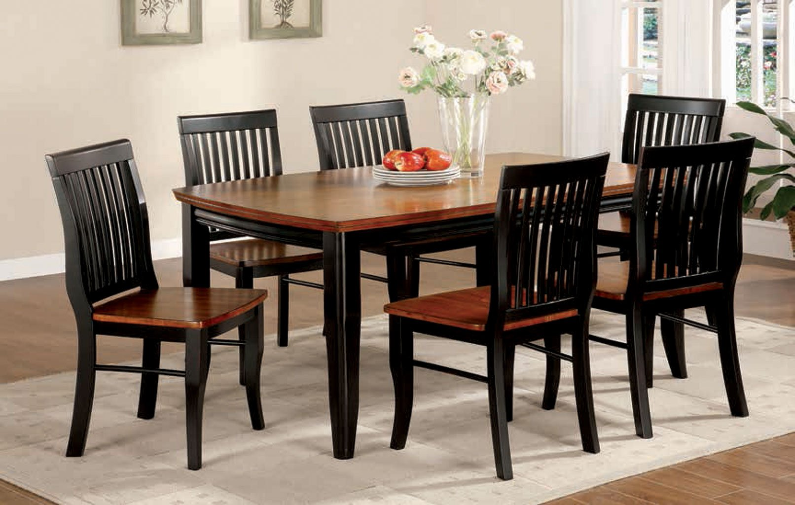 b8405780f960 Earlham Dining Room Set by Furniture of America