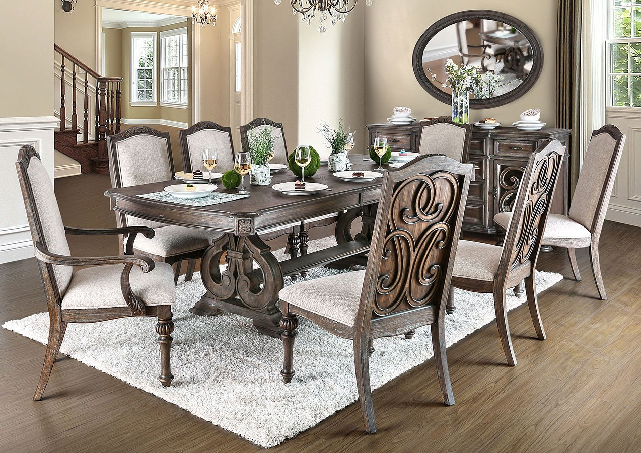 Arcadia Dining Room Set By Furniture Of America 2 Review S