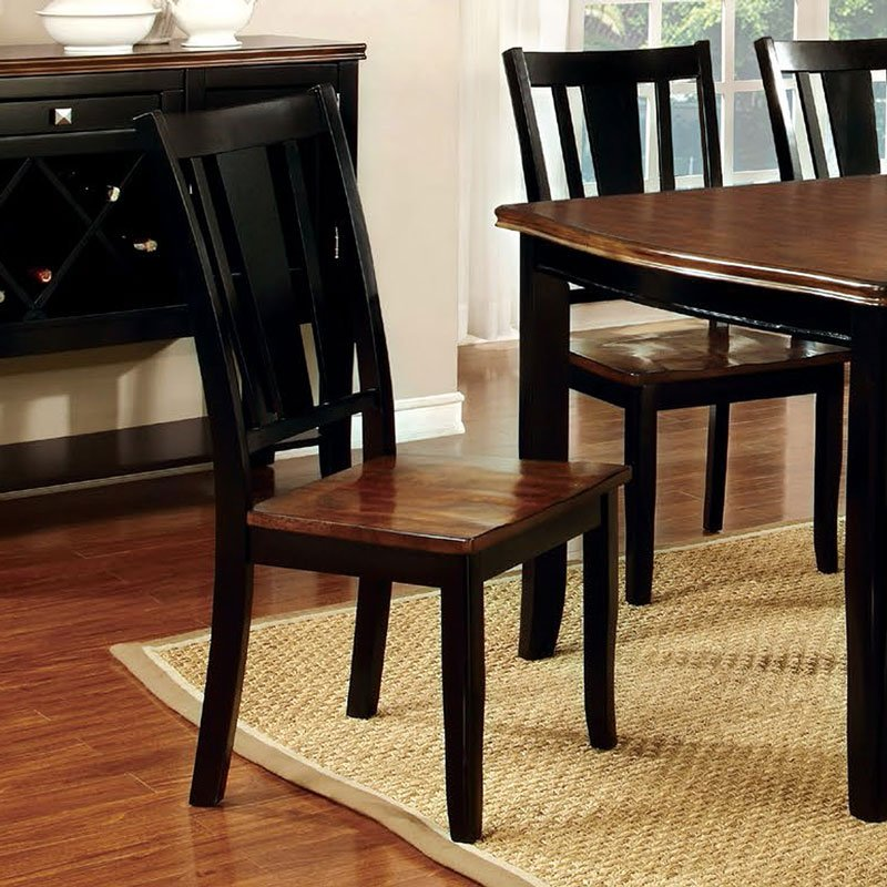 315ebc74fd290 Dover Side Chair (Black) (Set of 2) by Furniture of America ...