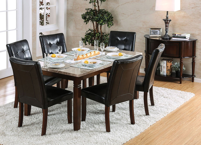 20 Hassle Free Zen Dining Room Decorating Ideas: Marstone Dining Room Set