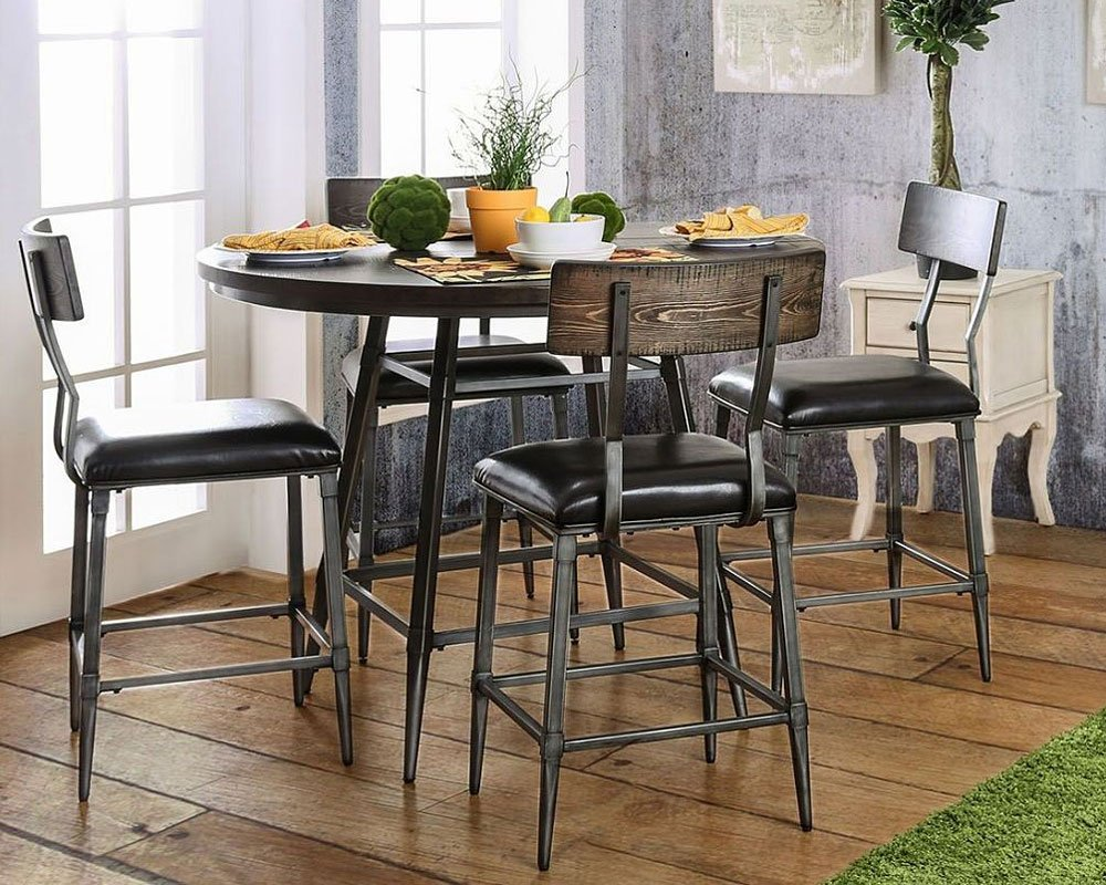Mullane counter height dining set casual dining sets for Casual kitchen dining