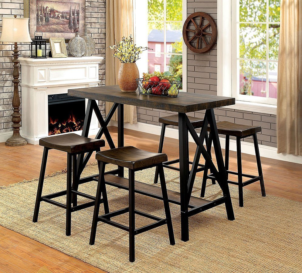 Dining Room Sets Bar Height: Lainey Counter Height Dining Room Set By Furniture Of