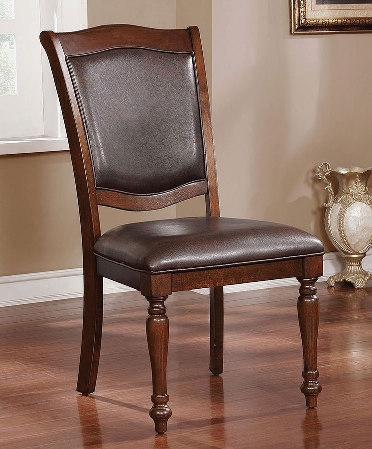 79ef483237bc Sylvana Side Chair (Set of 2) by Furniture of America