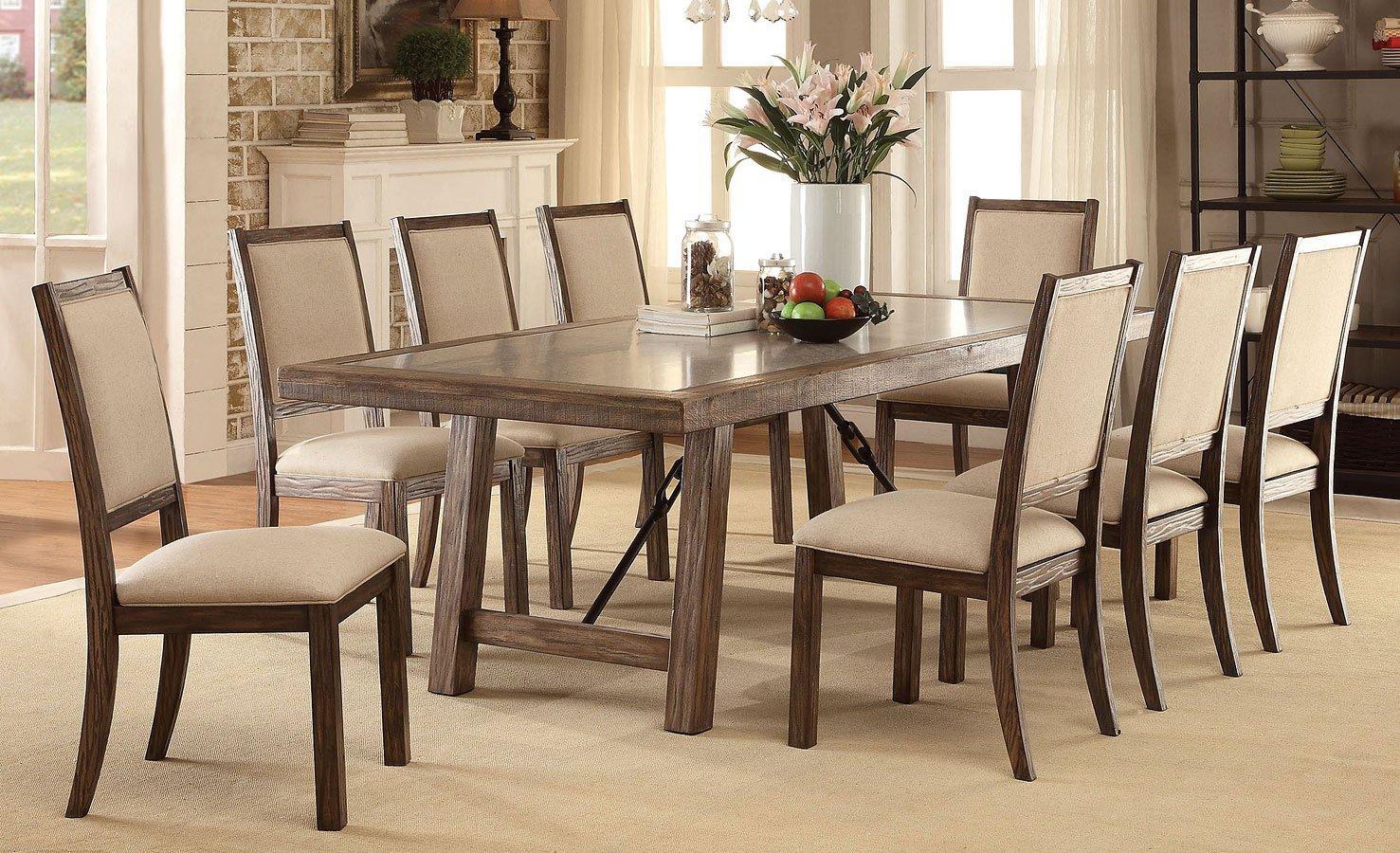 Colette 92 inch dining room set