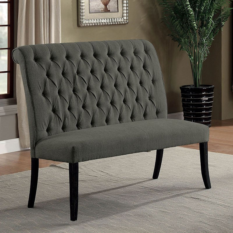 Exceptionnel Marshall Loveseat Bench (Gray)