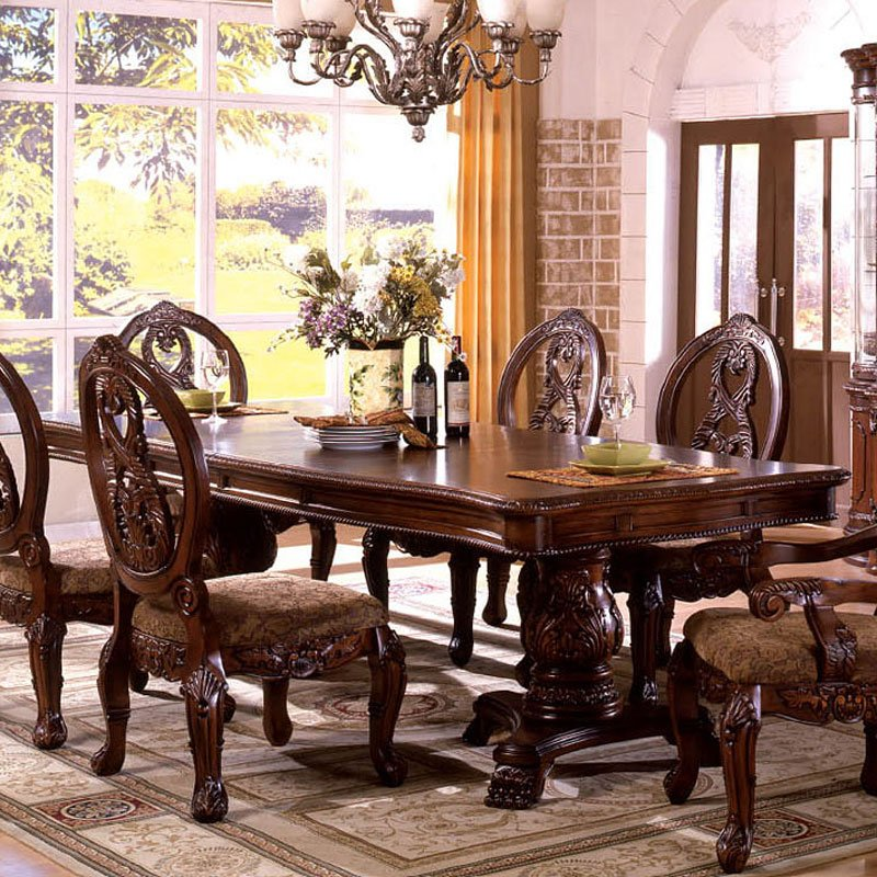Tuscany I Dining Room Set By Furniture Of America