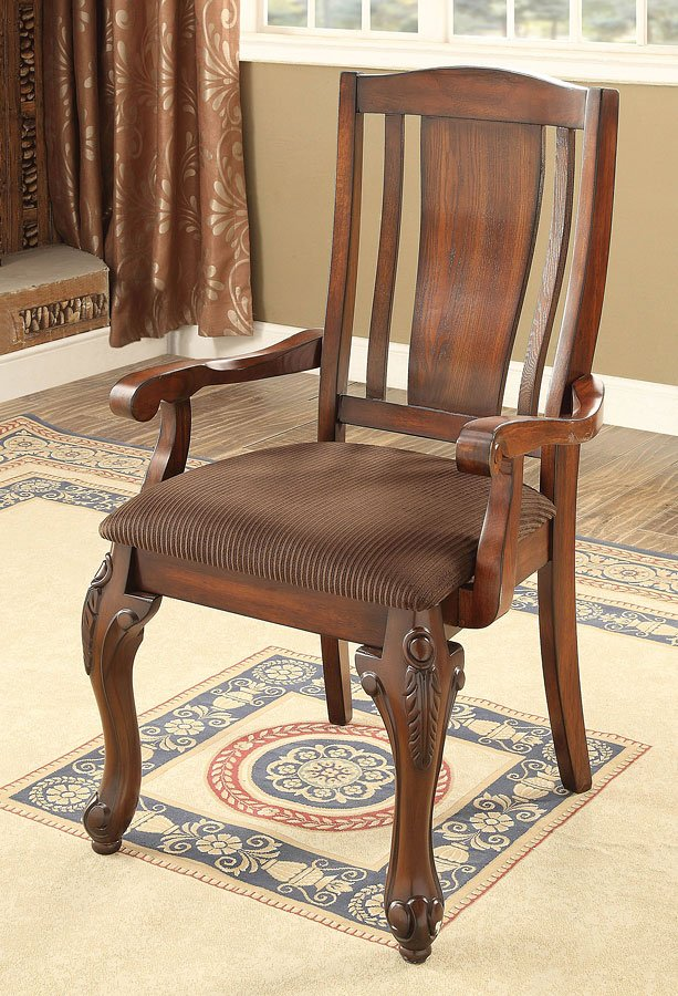 Johannesburg I Arm Chair Set Of 2 By Furniture America