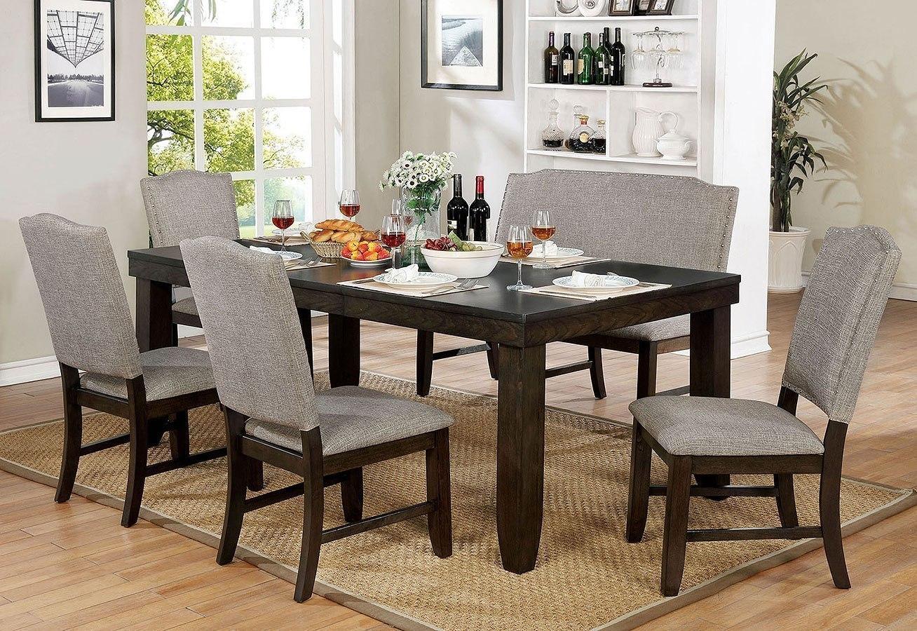 Teagan Dining Room Set w/ Bench