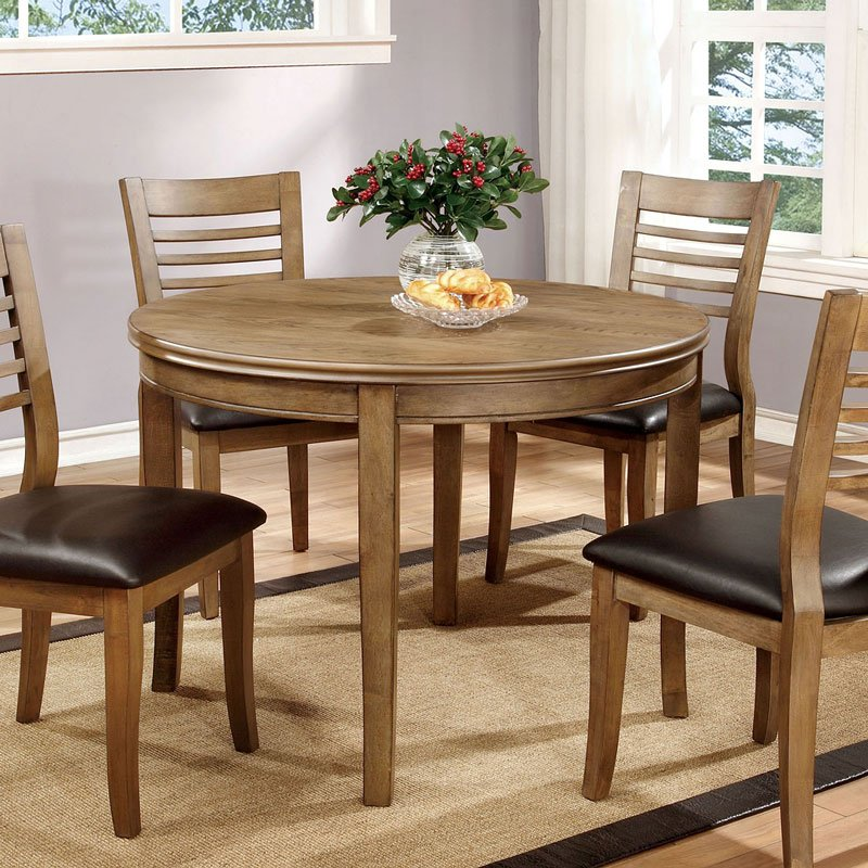 Dwight Ii 42 Inch Round Dining Table By Furniture Of America