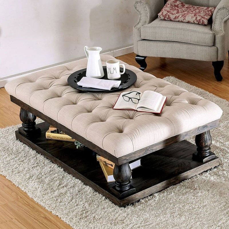 Keira Coffee Table Cushion Top And Cocktail