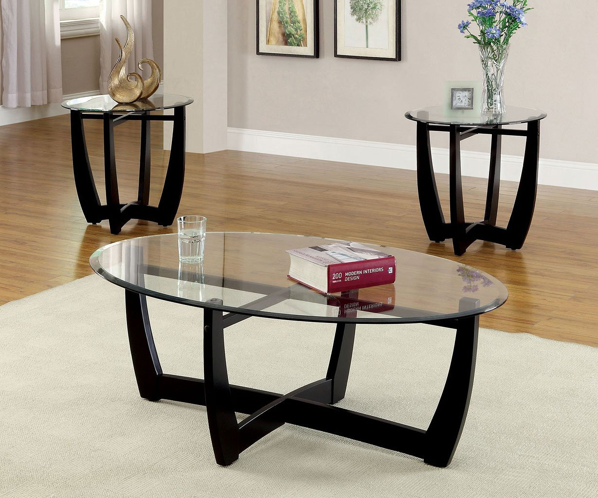 Dafni 3 Piece Occasional Table Set Occasional Table Sets