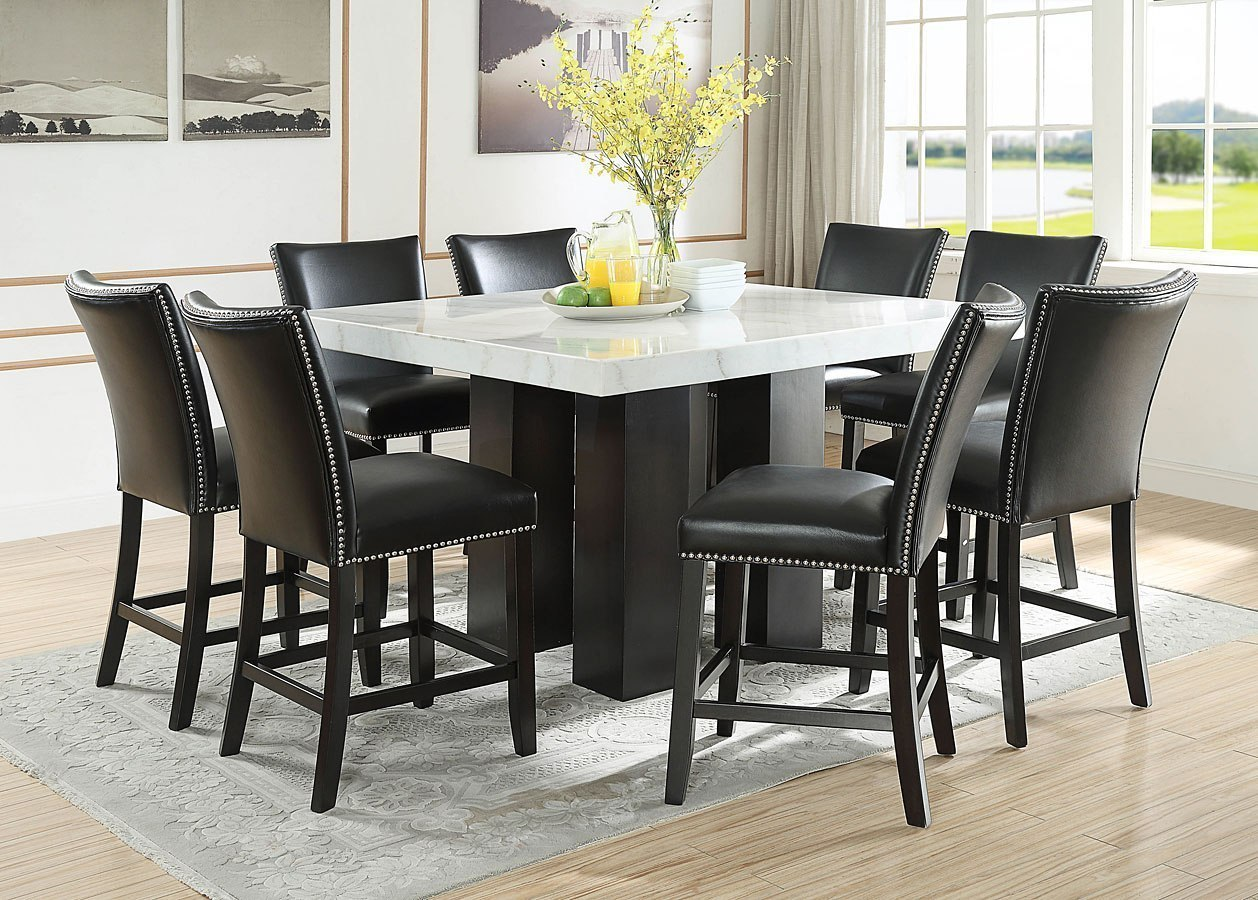 Camila Square Counter Height Dining Set