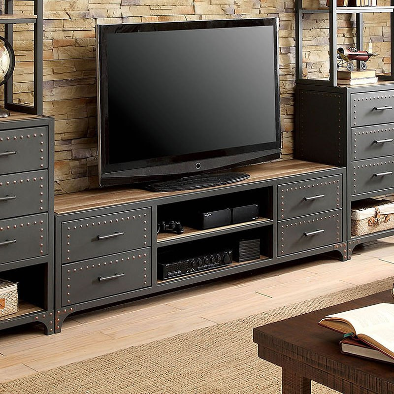 Galway 62-Inch TV Stand By Furniture Of America