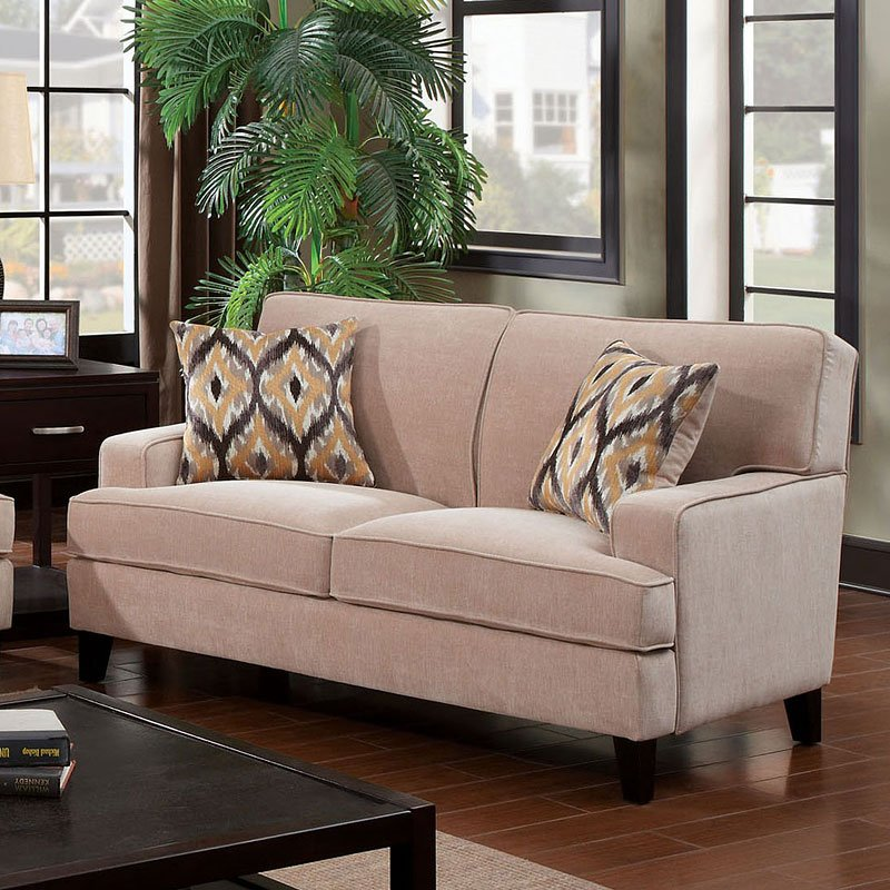 Ivory Living Room Furniture: Francis Living Room Set (Ivory) By Furniture Of America