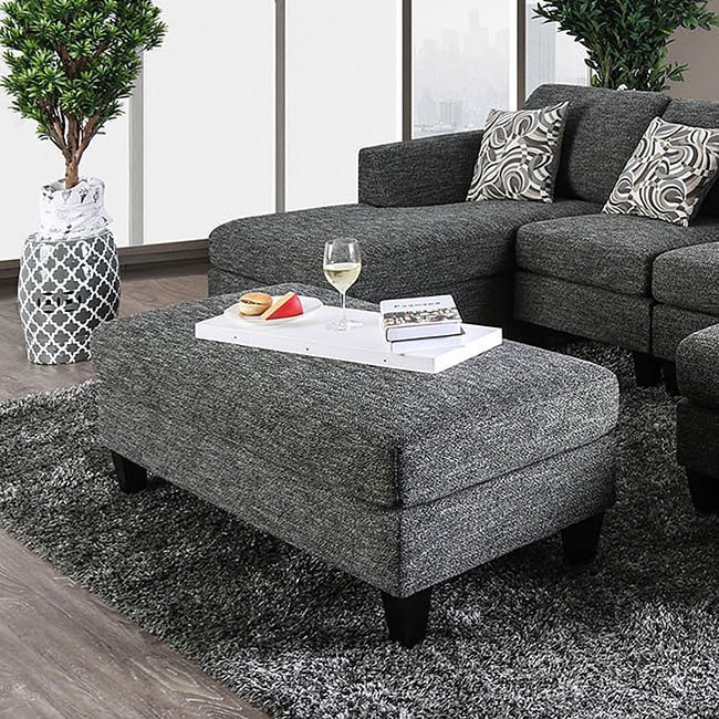 Exceptionnel 1 X Lowry Armless Chair; Lowry Ottoman