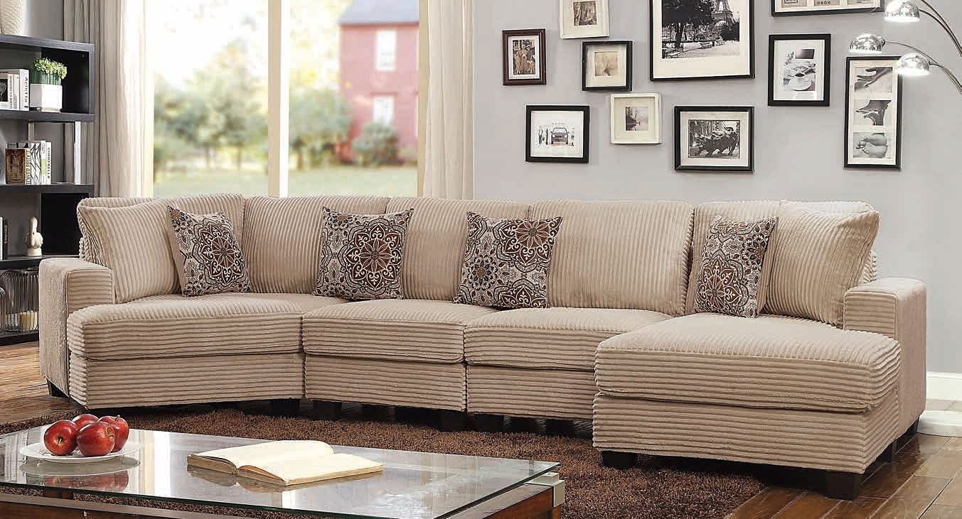 Amelia Sectional By Furniture Of America Furniturepick