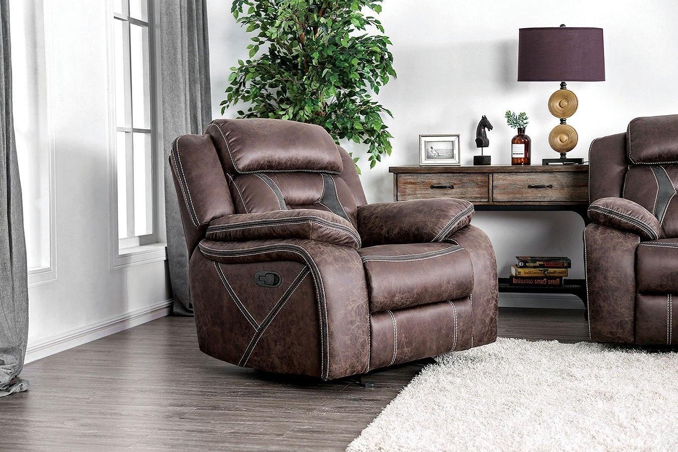 Flint Office Furniture: Flint Recliner By Furniture Of America