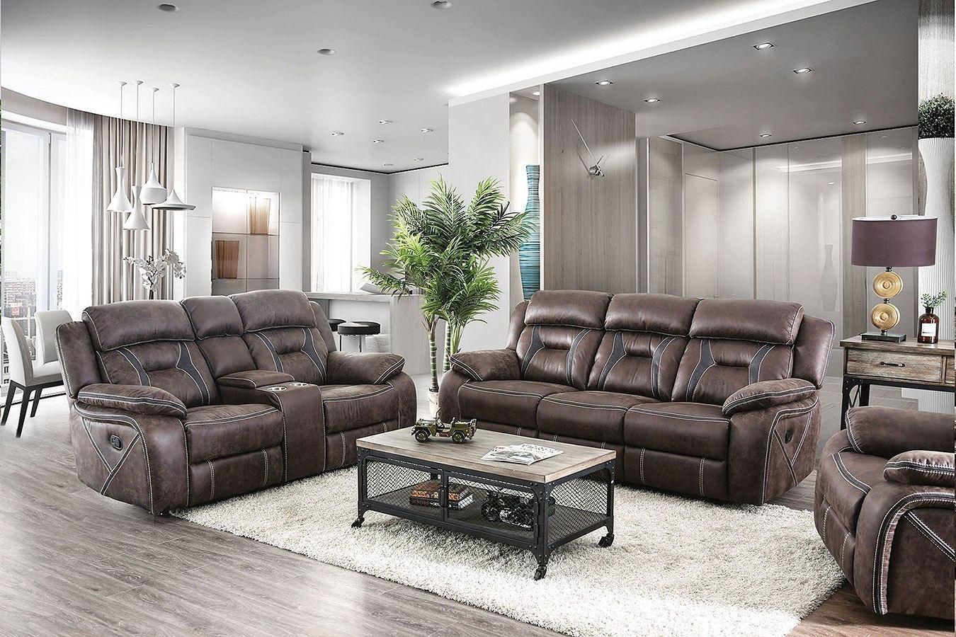 Flint Office Furniture: Flint Reclining Living Room Set By Furniture Of America