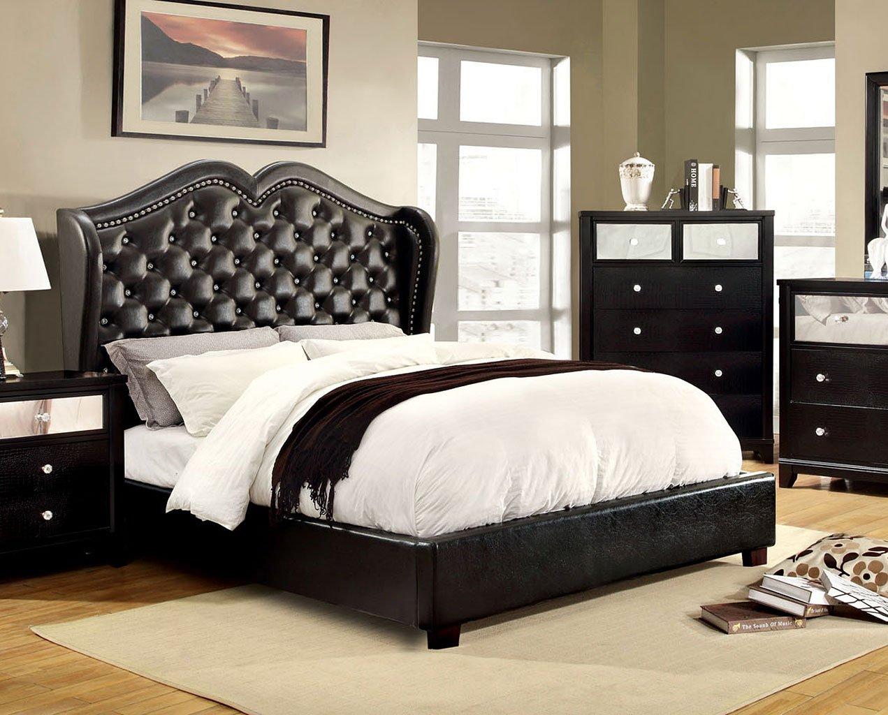 Monroe Platform Bed Black Beds Bedroom Furniture Bedroom
