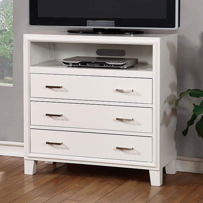 Enrico media chest white media chests media cabinets tv chests bedroom furniture bedroom for White media chest for bedroom